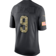 Dallas Cowboys Tony Romo #9 Nike Limited Salute To Service Jersey