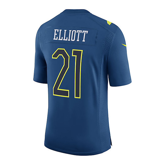 Dallas Cowboys Ezekiel Elliott #21 Nike Pro Bowl Game Jersey