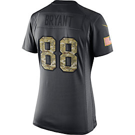 Dallas Cowboys Womens Dez Bryant #88 Nike Limited Salute To Service Jersey