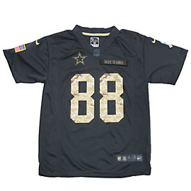 Dallas Cowboys Youth Dez Bryant #88 Nike Limited Salute To Service Jersey