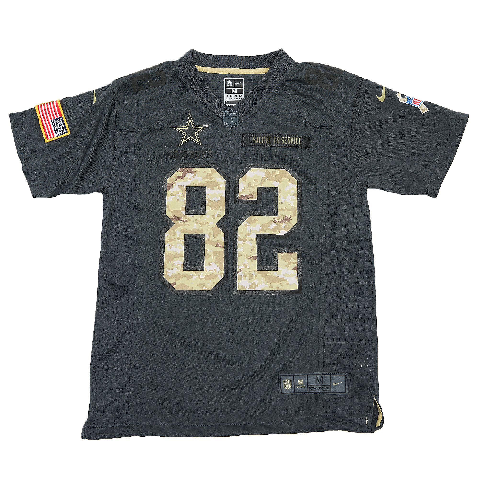 Dallas Cowboys Youth Jason Witten #82 Nike Limited Salute To ...