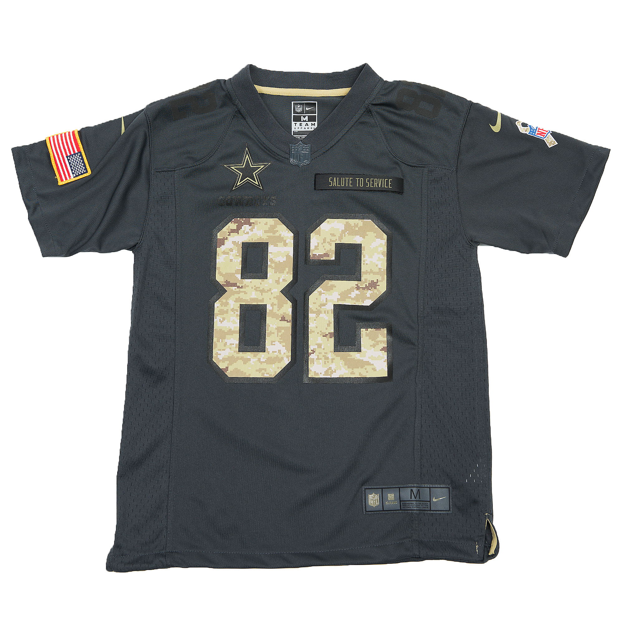 low priced 18033 0defe Dallas Cowboys Youth Jason Witten #82 Nike Limited Salute To Service Jersey  | Dallas Cowboys Pro Shop