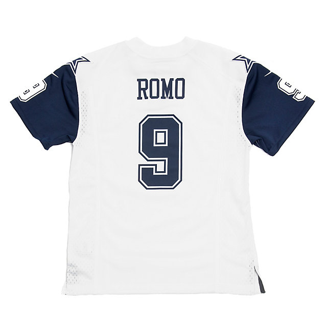 Dallas Cowboys Youth Tony Romo #9 Nike XC1 Color Rush Jersey