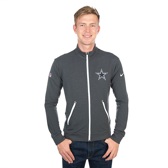 Dallas Cowboys Nike Dri-Fit Touch Fleece Full-Zip Jacket