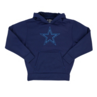 Dallas Cowboys Youth Hatfield Performance Fleece Hoody