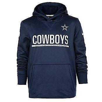 Dallas Cowboys Nike Youth Circuit Practice Hoody