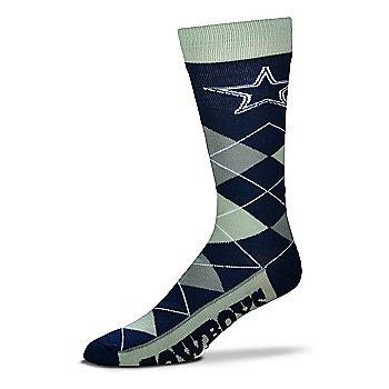 Dallas Cowboys Argyle Zoom Sock