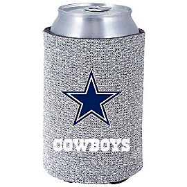 Dallas Cowboys Silver Glitter Coolie