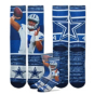 Dallas Cowboys Dak Prescott Sublimated Rush Socks