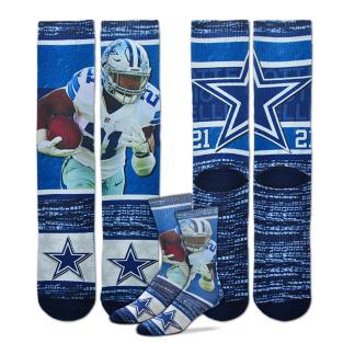 Dallas Cowboys Youth Ezekiel Elliott Sublimated Rush Socks