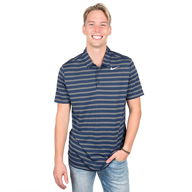 Dallas Cowboys Nike Breathe Stripe Polo