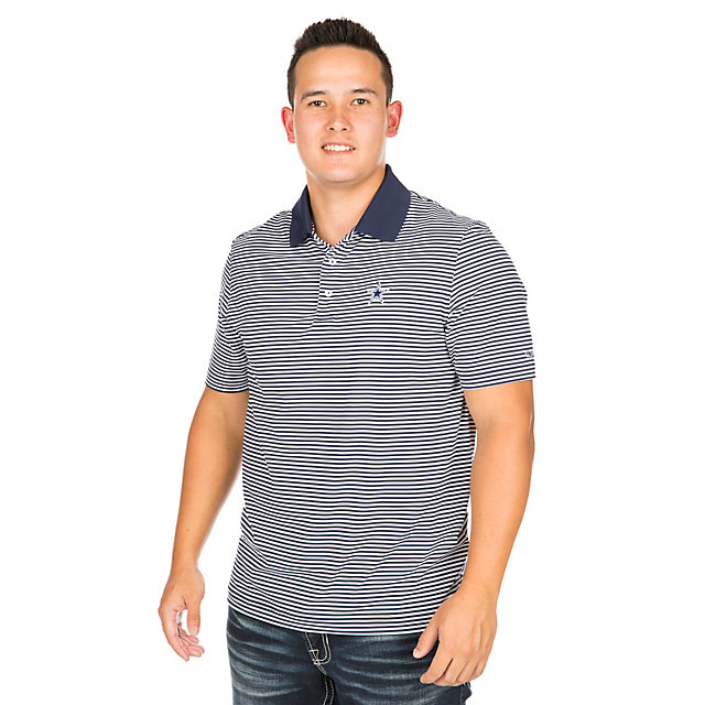 Dallas Cowboys Vineyard Vines Porter Stripe Polo