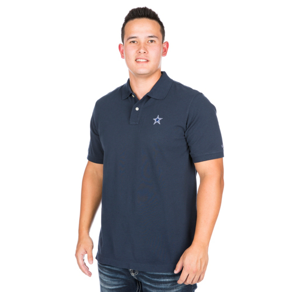 Dallas Cowboys Vineyard Vines Classic Pique Polo