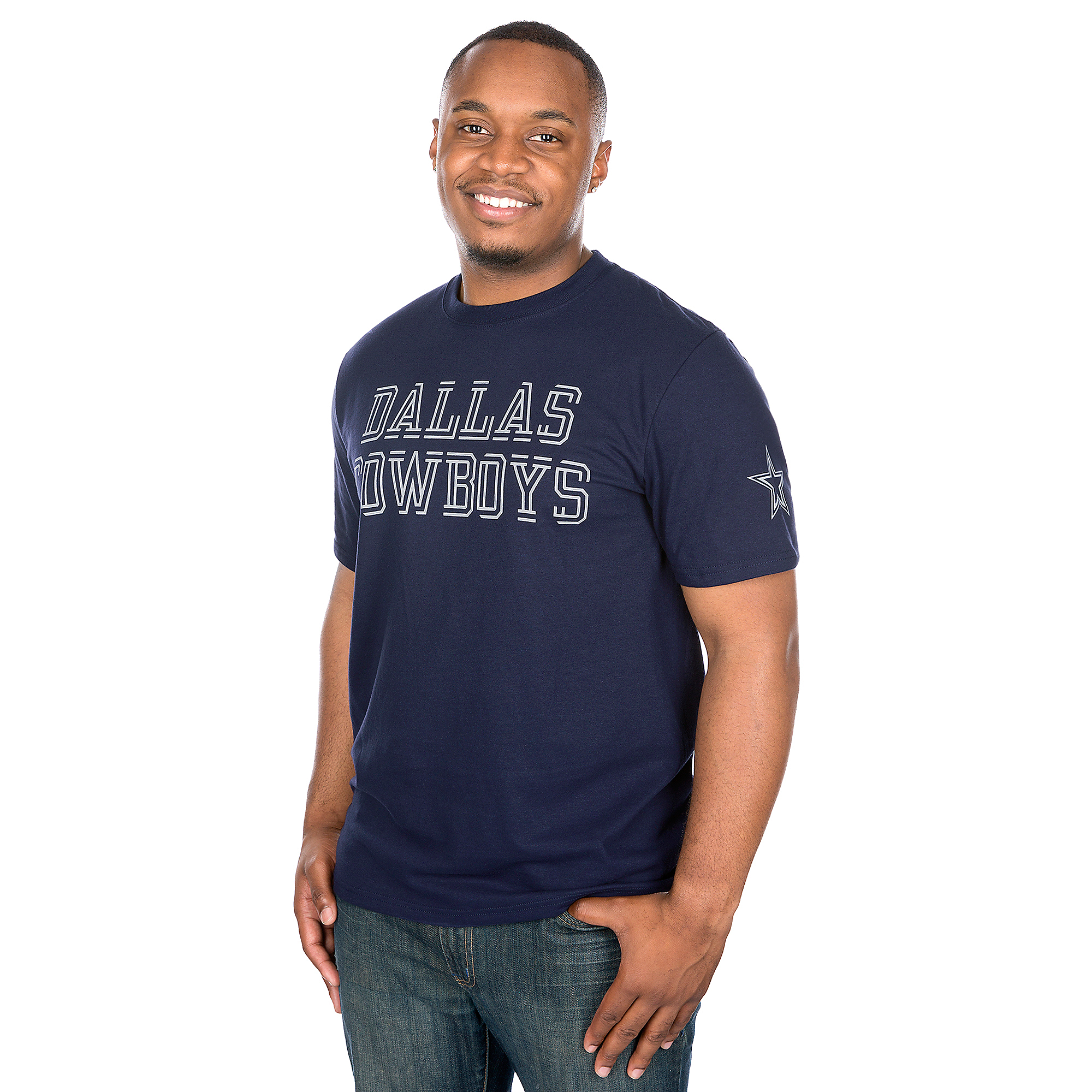 Dallas Cowboys Double Cut Tee