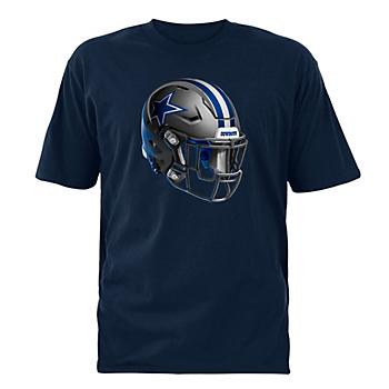 Dallas Cowboys Stealth Helmet Tee