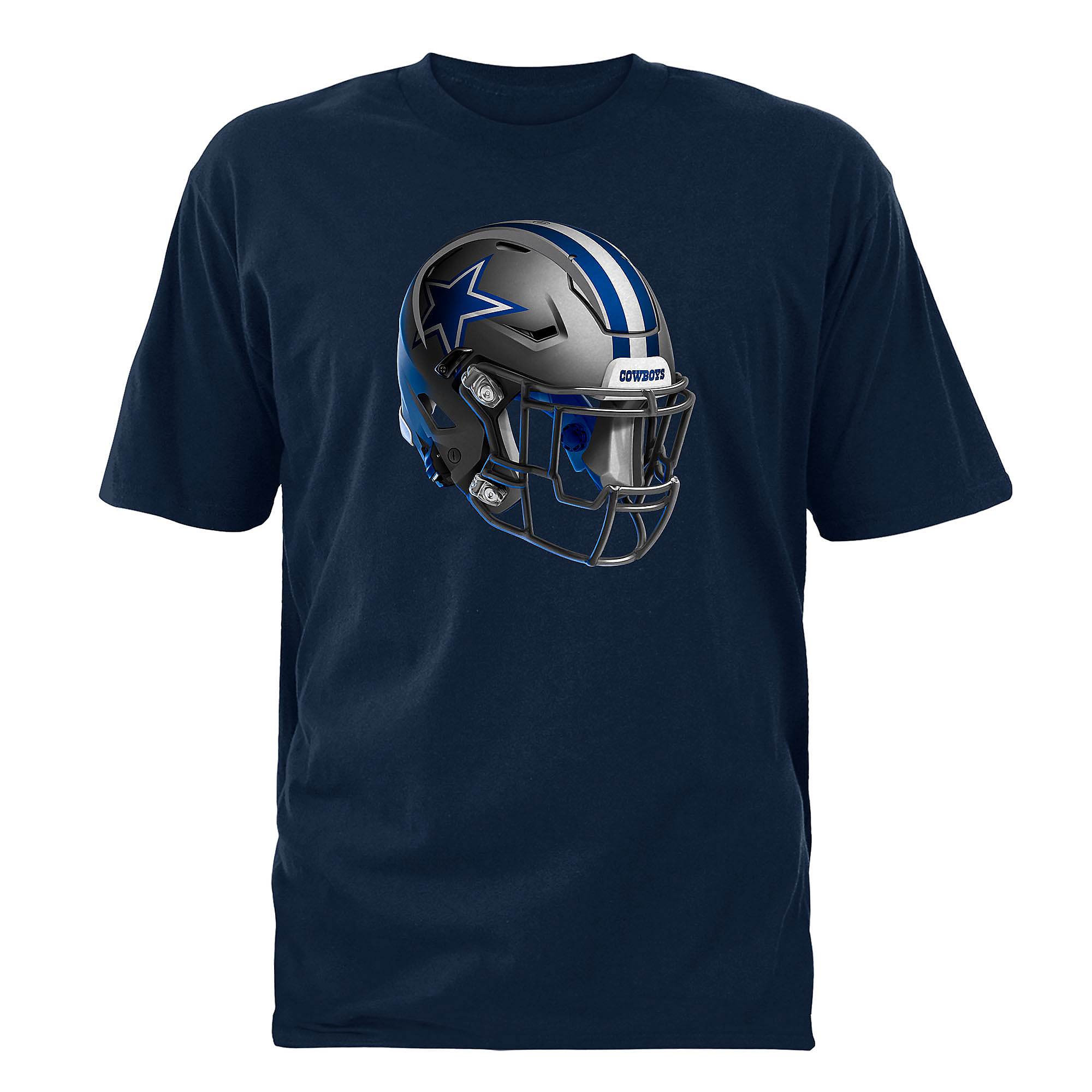 Dallas Cowboys Stealth Helmet Tee