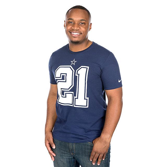 Dallas Cowboys Ezekiel Elliott #21 Nike Player Pride 2 Tee