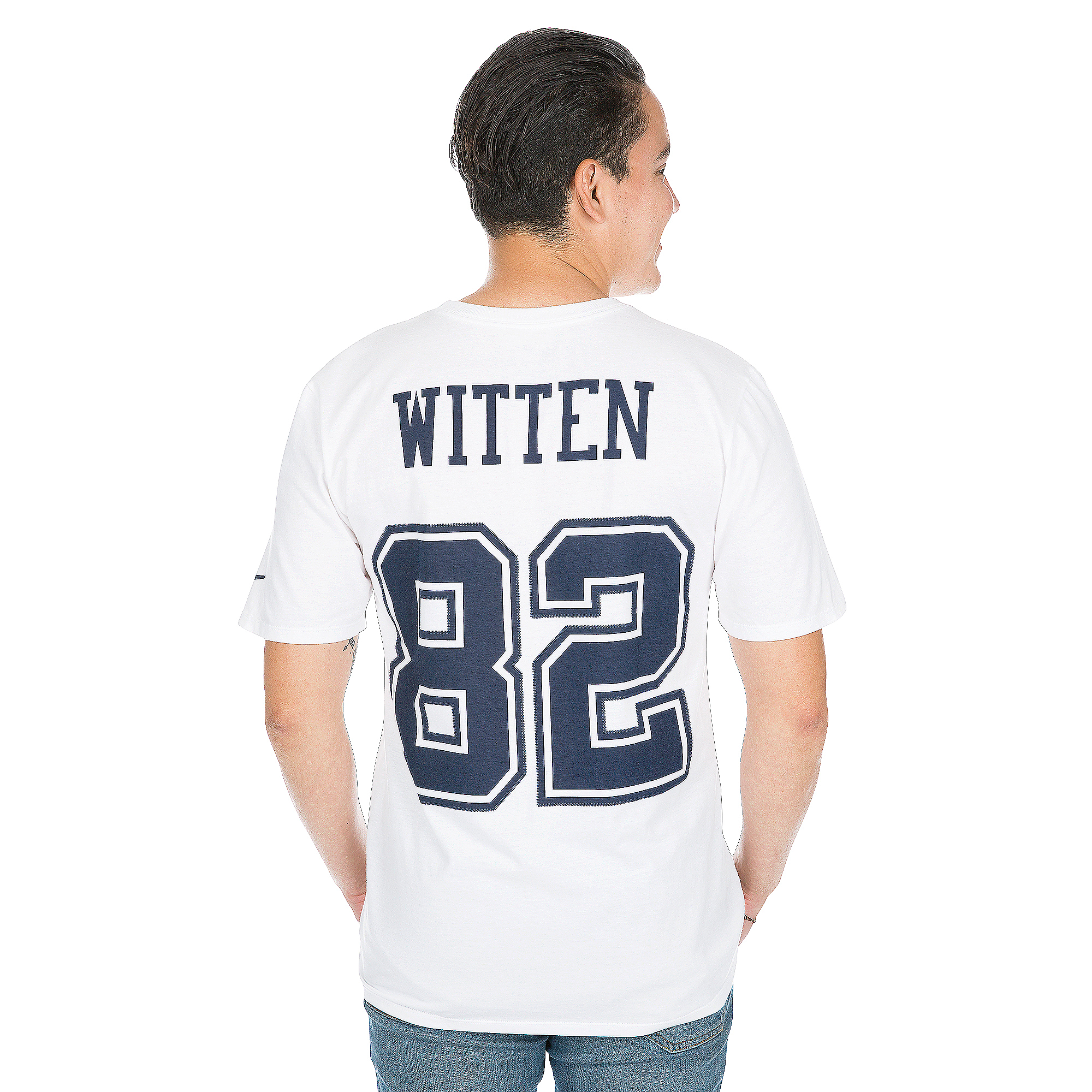 14de169c4 Dallas Cowboys Jason Witten  82 Nike XC2 Color Rush Player Pride 2 Tee ...