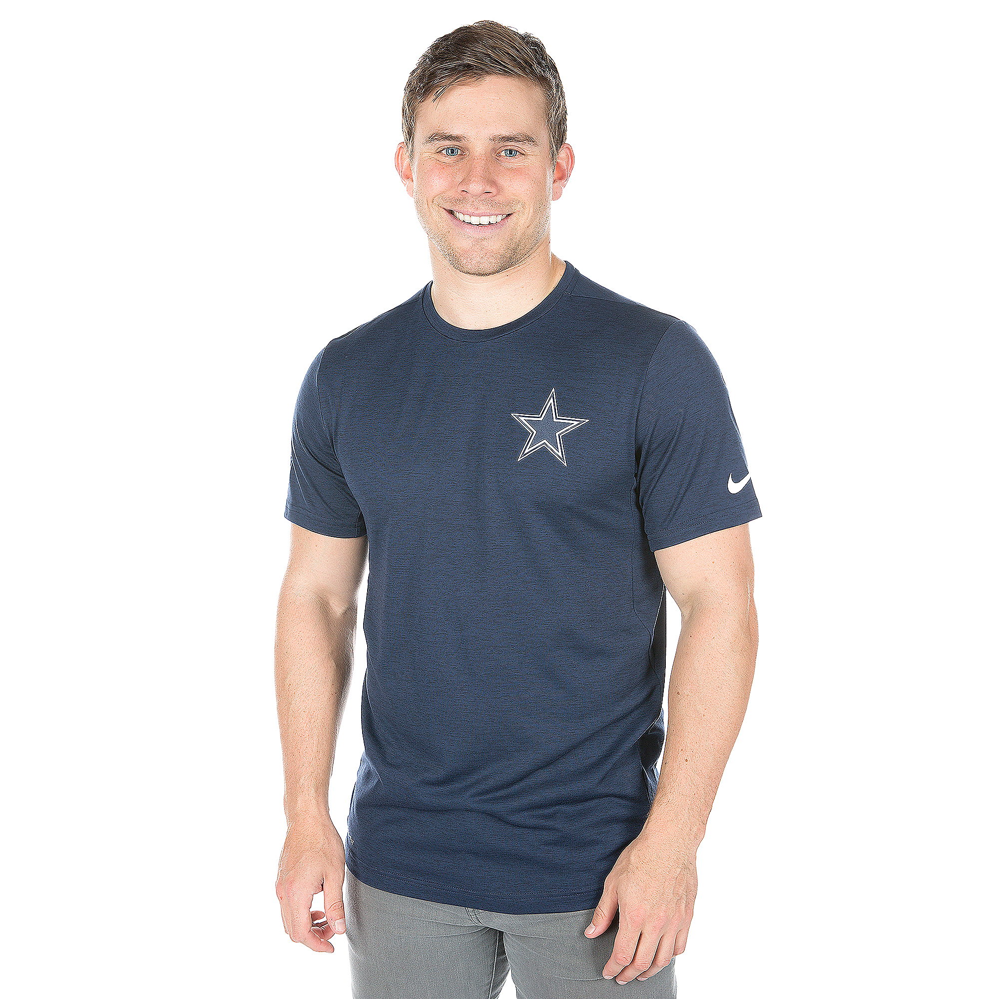 Dallas Cowboys Nike Coach Short Sleeve Top