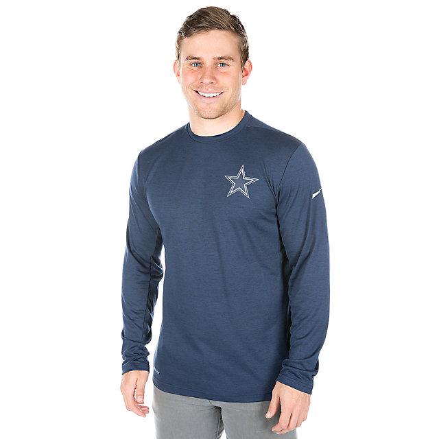 Dallas Cowboys Nike Coach Long Sleeve Top