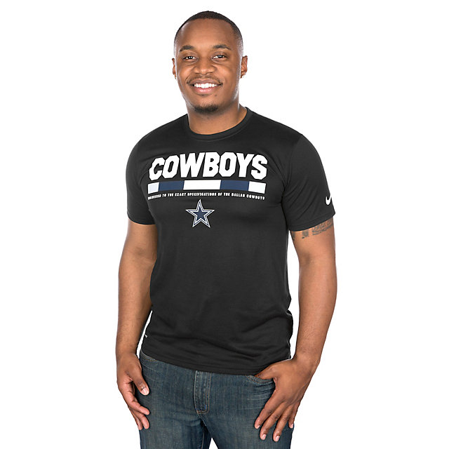 Dallas Cowboys Nike Staff Legend Short Sleeve Tee