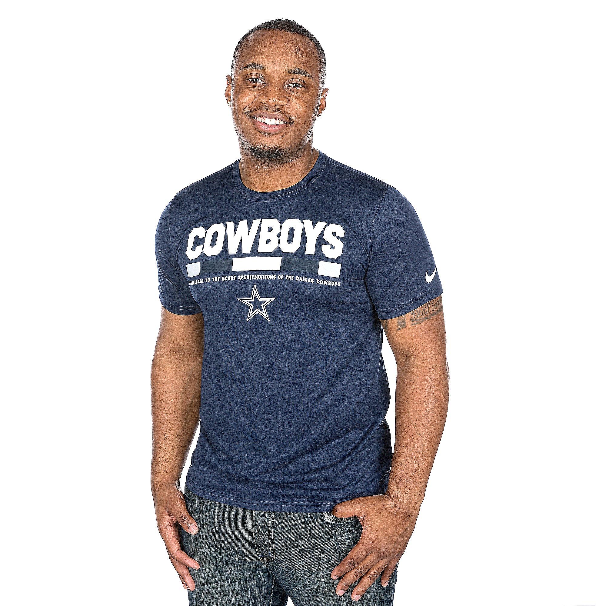 Dallas Cowboys Nike Staff Legend Short Sleeve T-Shirt