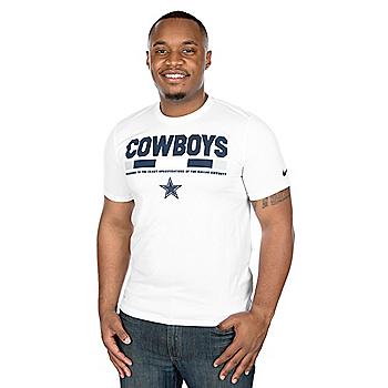 Dallas Cowboys Nike Staff Legend Short Sleeve Tee