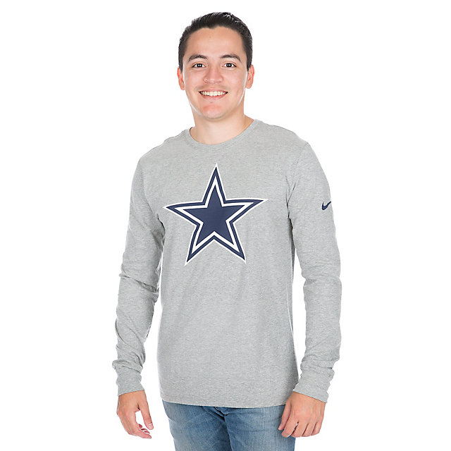 Dallas Cowboys Nike Primary Logo Long Sleeve Tee