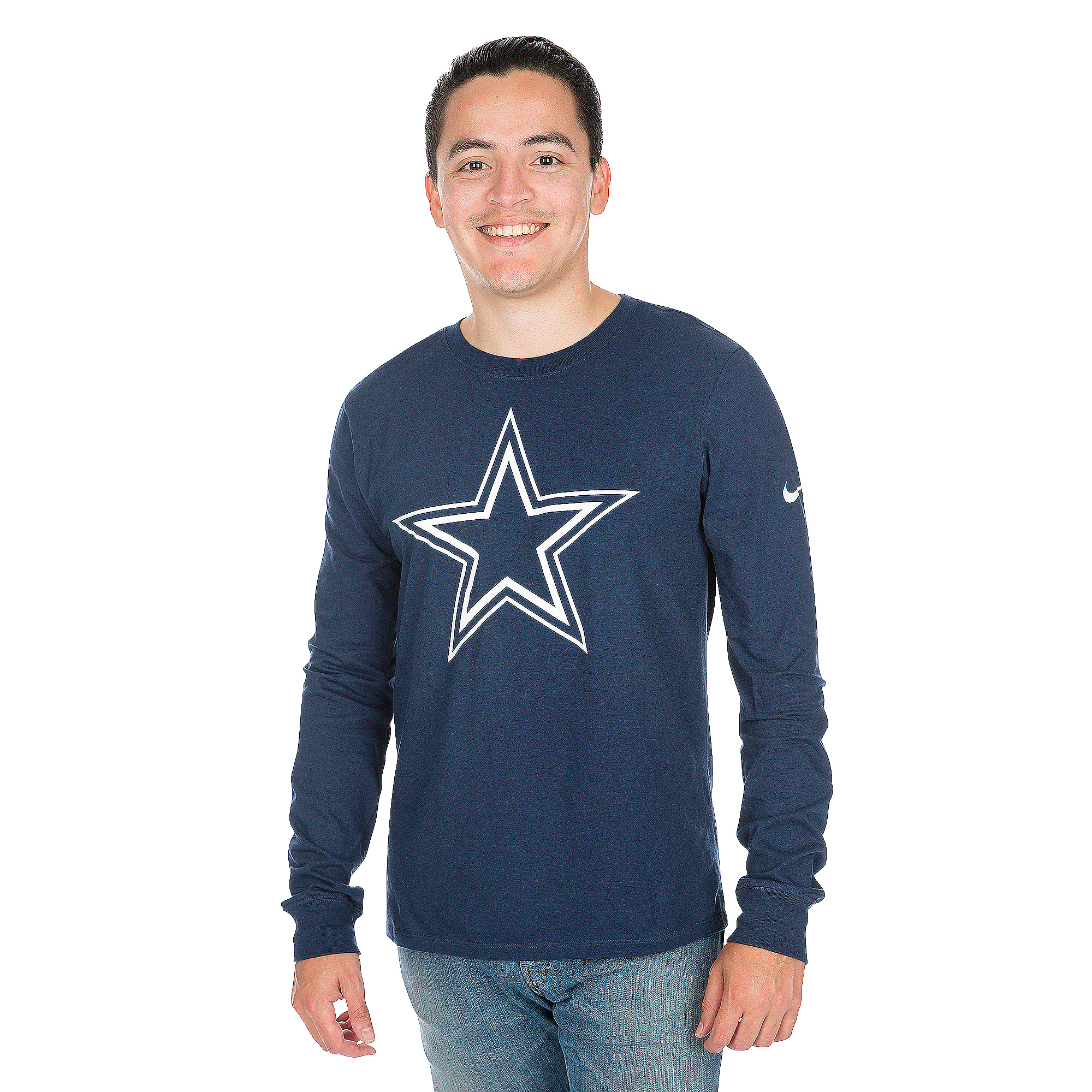 Dallas Cowboys Nike Primary Logo Long Sleeve Tee