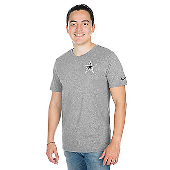 Dallas Cowboys Nike Marled Short Sleeve Tee