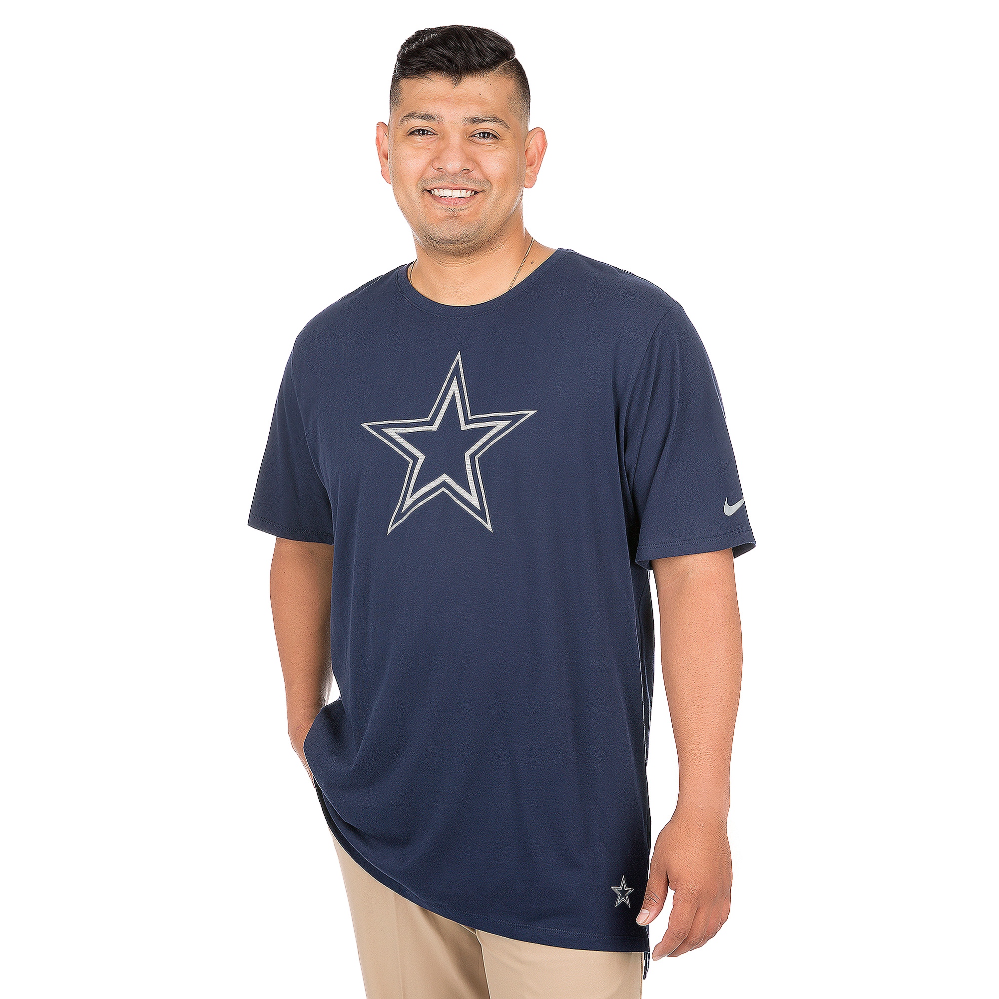 Dallas Cowboys Nike Enzyme Droptail Tee