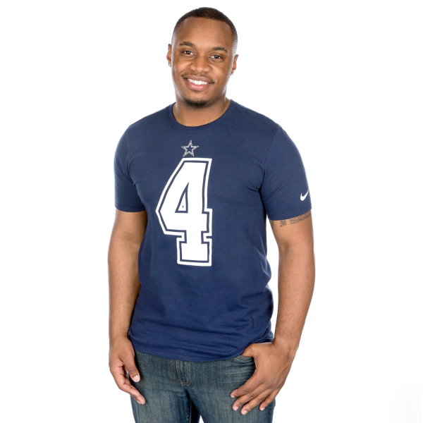 Dallas Cowboys Dak Prescott #4 Nike Player Pride 2 Tee