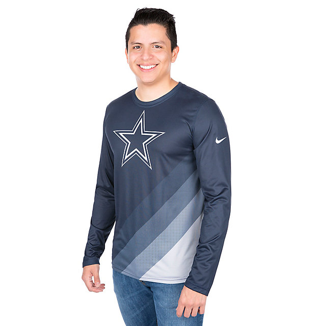 Dallas Cowboys Nike Legend Sideline Long Sleeve Tee