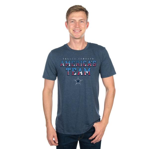 Dallas Cowboys Mens America's Pride Tee