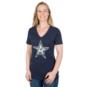 Dallas Cowboys Galaxy Star Short Sleeve Tee