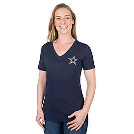 Dallas Cowboys Keelin Short Sleeve Tee