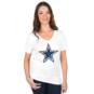 Dallas Cowboys Womens Juniper Tee