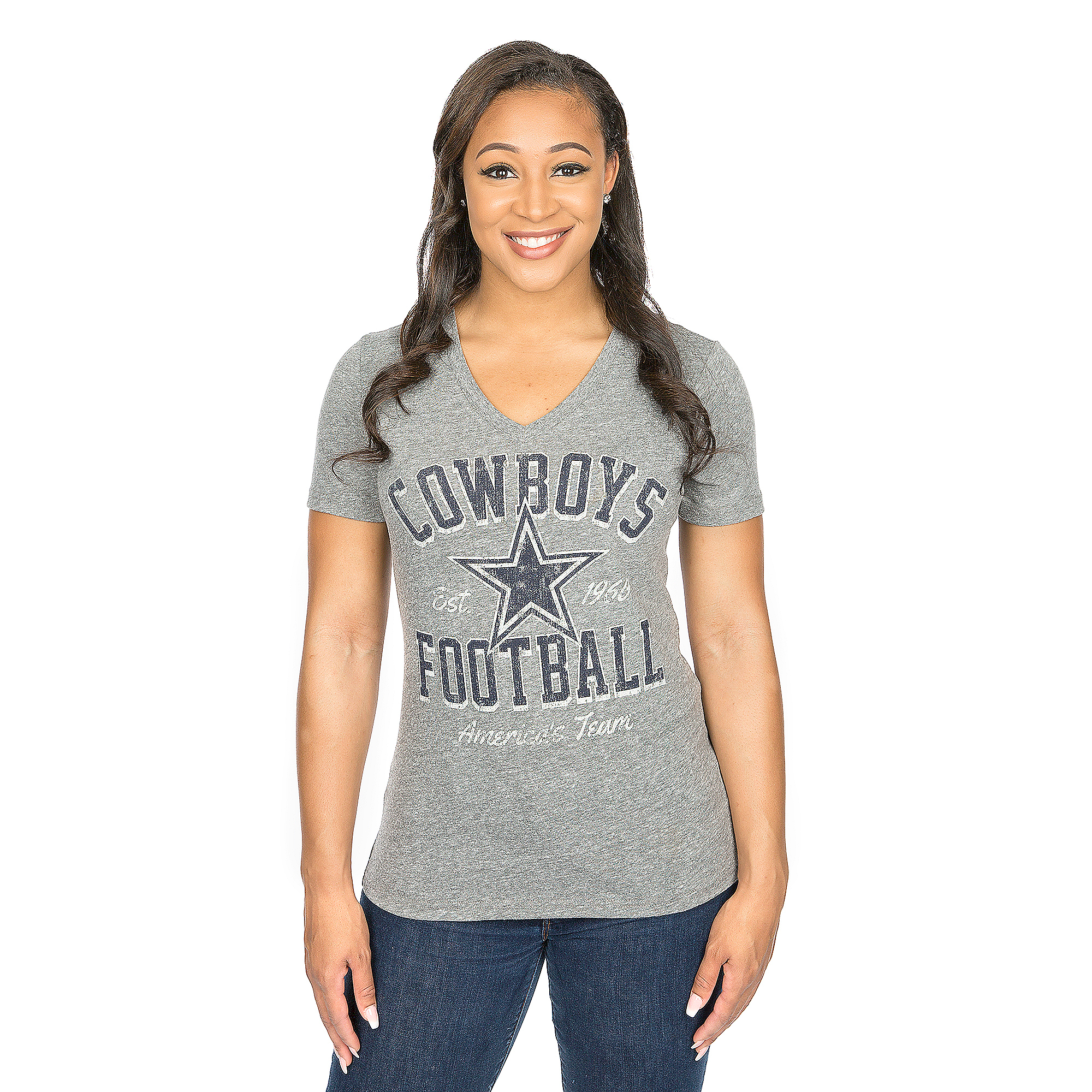 Dallas Cowboys Everly Short Sleeve Tee