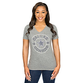 Dallas Cowboys Hattie Short Sleeve Tee
