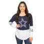 Dallas Cowboys Audrey Long Sleeve Tee