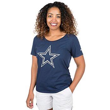 Dallas Cowboys Nike Womens Primary Logo T-Shirt