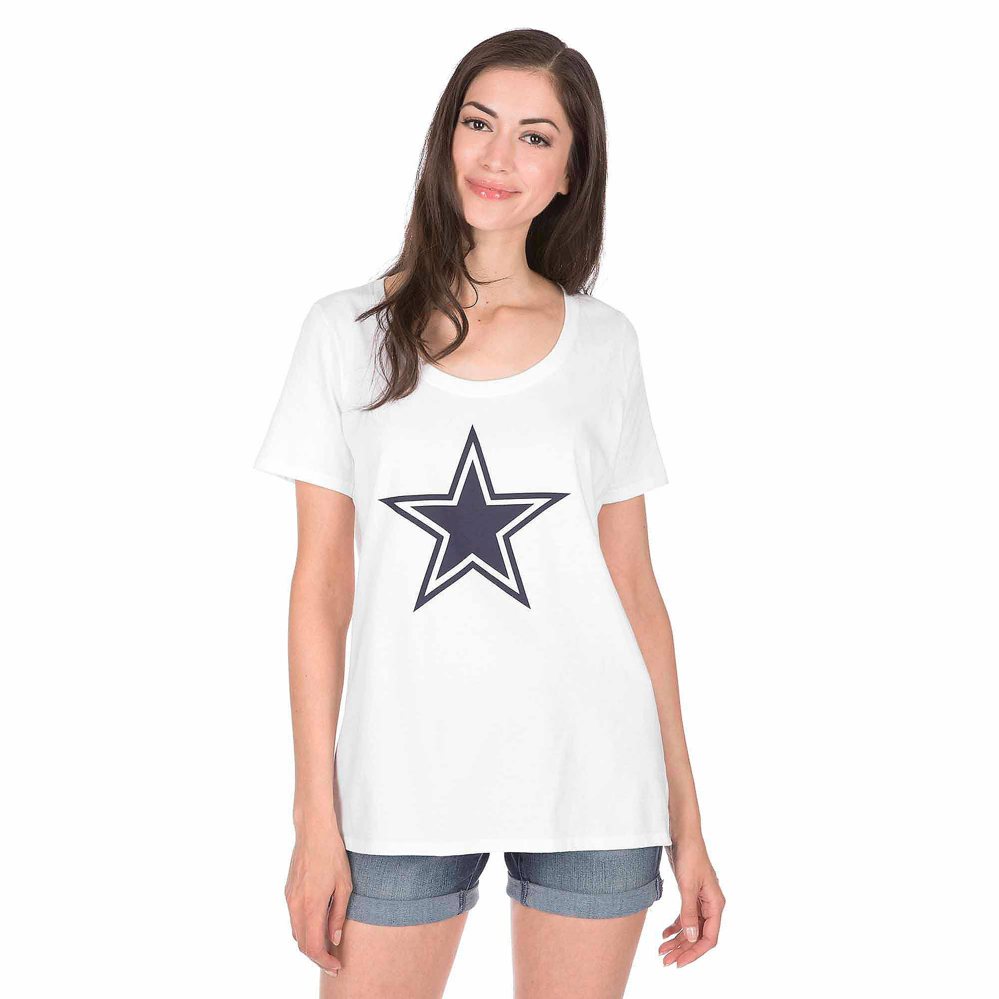 Dallas Cowboys Nike Womens Primary Logo Tee