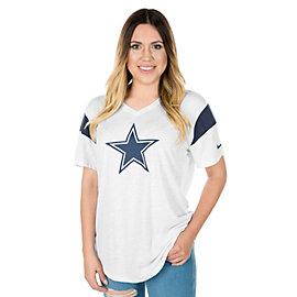 Dallas Cowboys Nike Dry Short Sleeve Fan Top