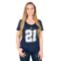 Dallas Cowboys Womens Ezekiel Elliott #21 Nike Player Pride 2 Tee