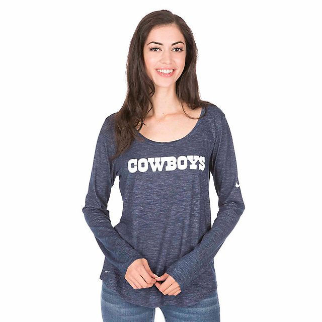 Dallas Cowboys Nike Tri Mesh Long Sleeve Tee