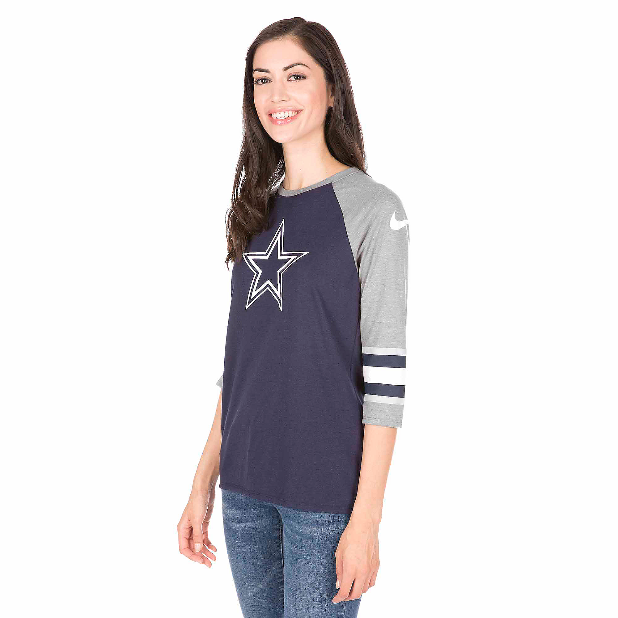 Dallas Cowboys Nike Tri Star Raglan Tee