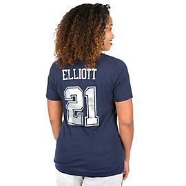 Dallas Cowboys Ruby Ezekiel Elliott Short Sleeve Tee