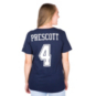 Dallas Cowboys Womens Dak Prescott #4 Nike Player Pride 2 Tee