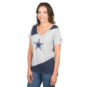 Dallas Cowboys Nike Driblend Mid V-neck Tee