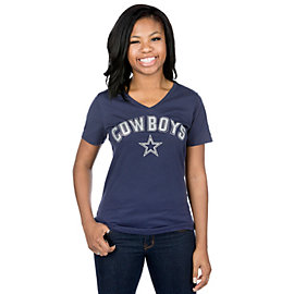 Dallas Cowboys Womens Thring Tee